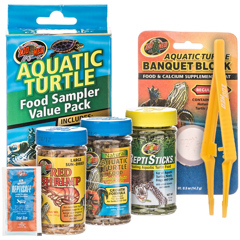 Zoo Med Aquatic Turtle Food Sample Value Pack