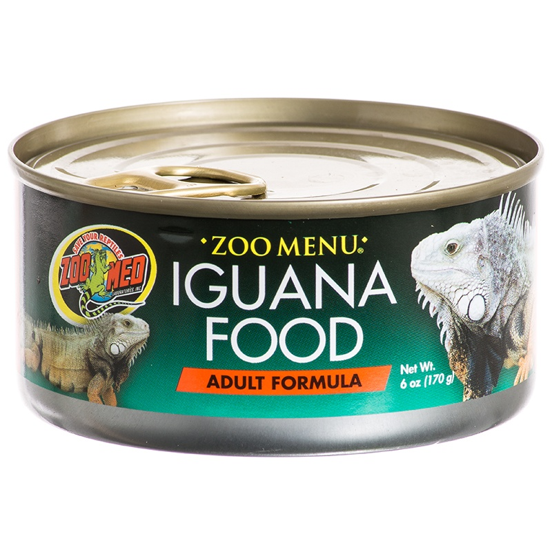 Zoo Med Zoo Menu Canned Iguana Food – Adult Formula