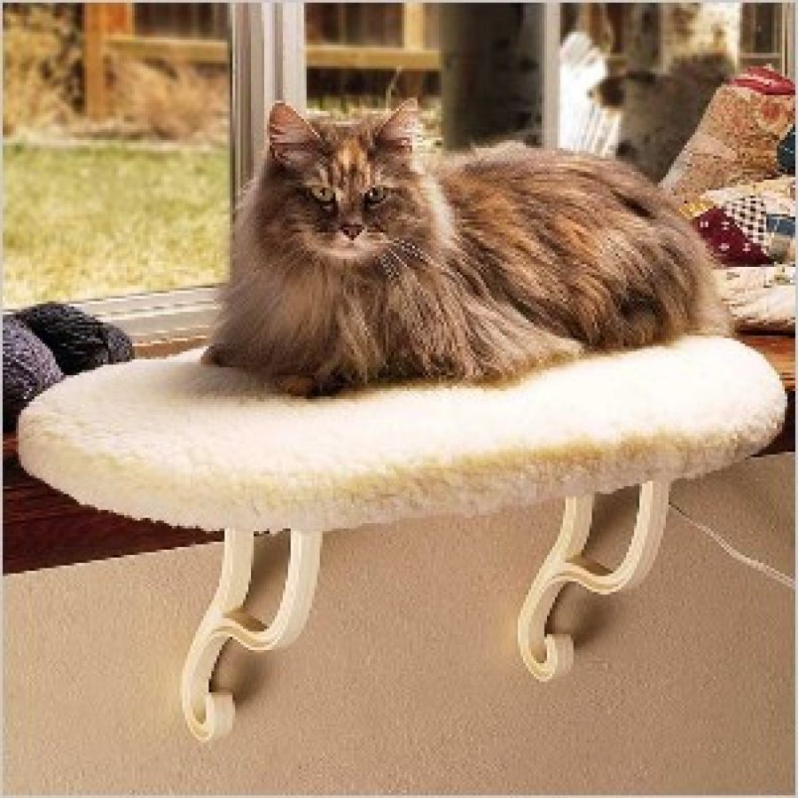 KITTY CAT SILL SLEEP WINDOW PERCH SEAT BED SHELF BOLSTER