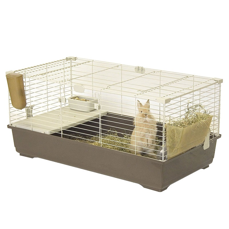 Marchioro Tommy C Guinea Pig & Rabbit Cage – Brown