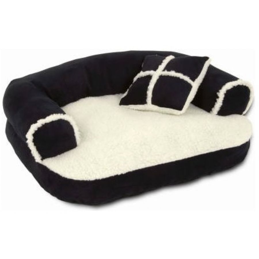Aspen Pet Sofa Bed with Bonus Pillow